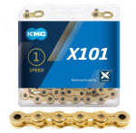 KMC X101 Gold Track Chain