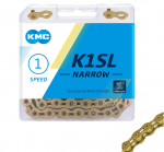 KMC K1-SL Narrow 3/32 Kool Gold Track Chain