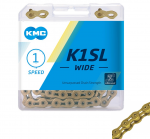 KMC K1-SL Wide Gold Track Chain