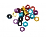 Velodrome Shop Coloured Track Wheel Nuts